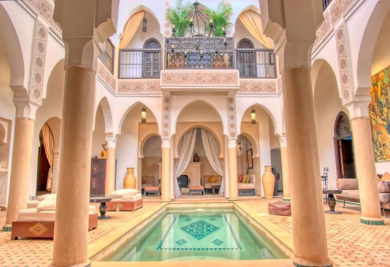 Riad Andalouse, Marrakech, Klassieke Twin kamer, Terras