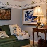 Apartmá typu Deluxe, dvojlůžko (180 cm) - Obývací prostor