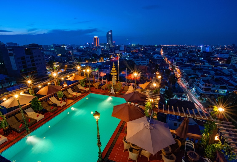 Okay Boutique Hotel, Phnom Penh, View from Hotel