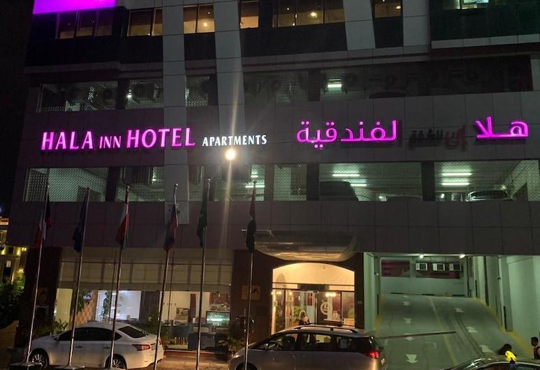 Hala Inn Hotel Apartments, Ajman, Overnatningsstedets facade
