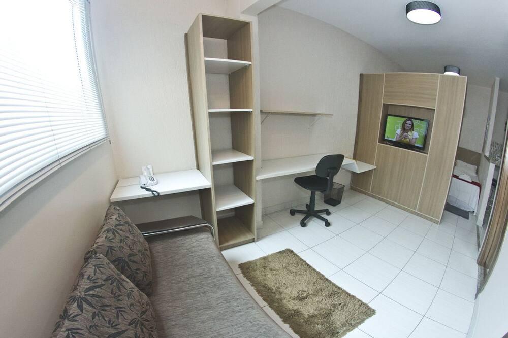 Executive Single Room (Flat) - Living Area