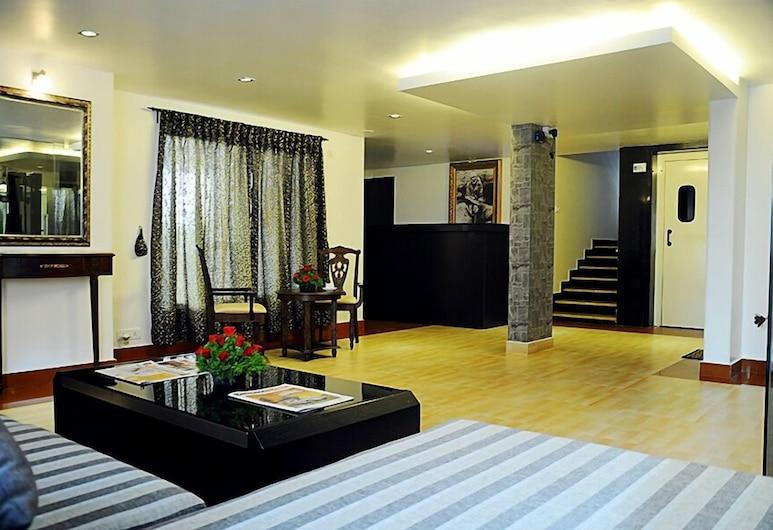 The Grand Serenity Apartment Hotel, Bengaluru, Vidinis įėjimas