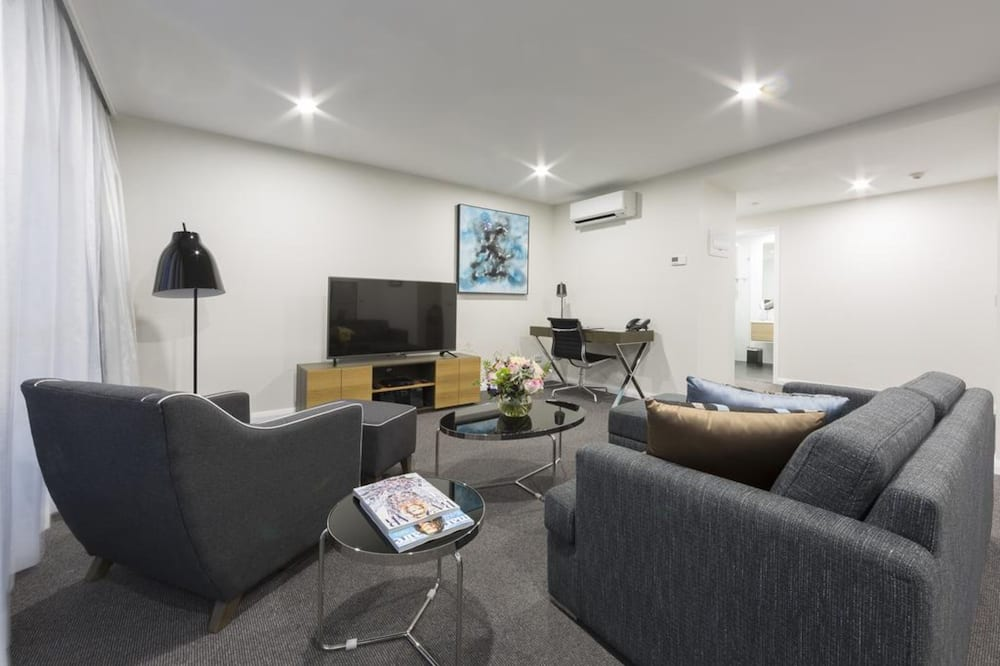 Two Bedroom Apartment Balcony - Living Area