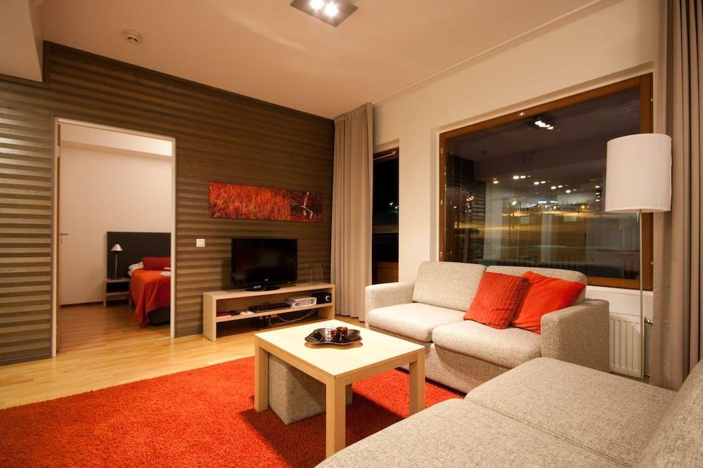 公寓, 2 間臥室, 三溫暖 - 客廳