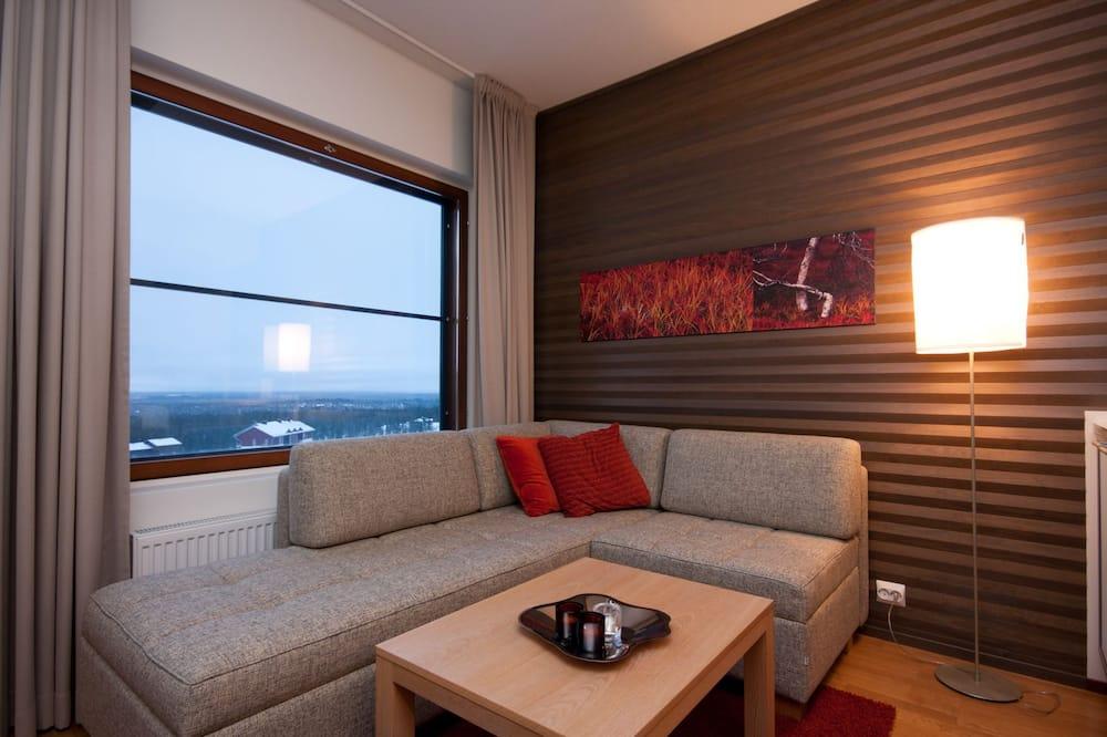 公寓, 1 間臥室, 三溫暖 - 客廳