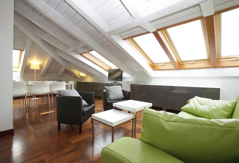 Appartamenti Creuza de Ma, Lerici, Pagerinto tipo apartamentai, Kelios lovos, Svetainės zona