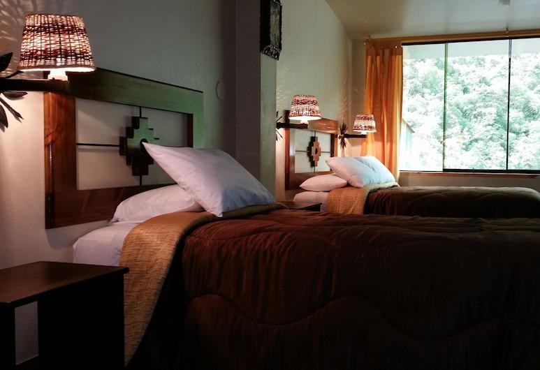 Marco Wasi, Machu Picchu, dvivietis kambarys su atskiromis lovomis, Vaizdas iš svečių kambario
