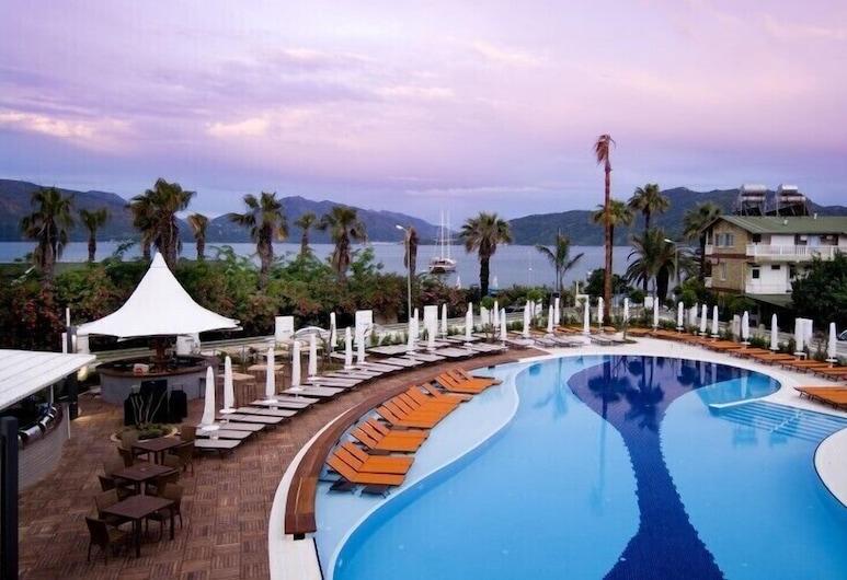 Casa De Maris Spa & Resort Hotel - All Inclusive, Marmaris, Lauko baseinas