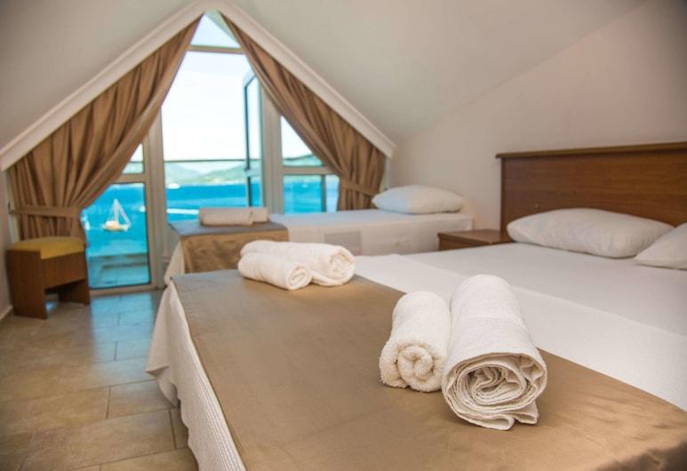 B&B Yüzbaşı Beach Hotel, Marmaris, Habitación estándar, vistas al mar, Habitación