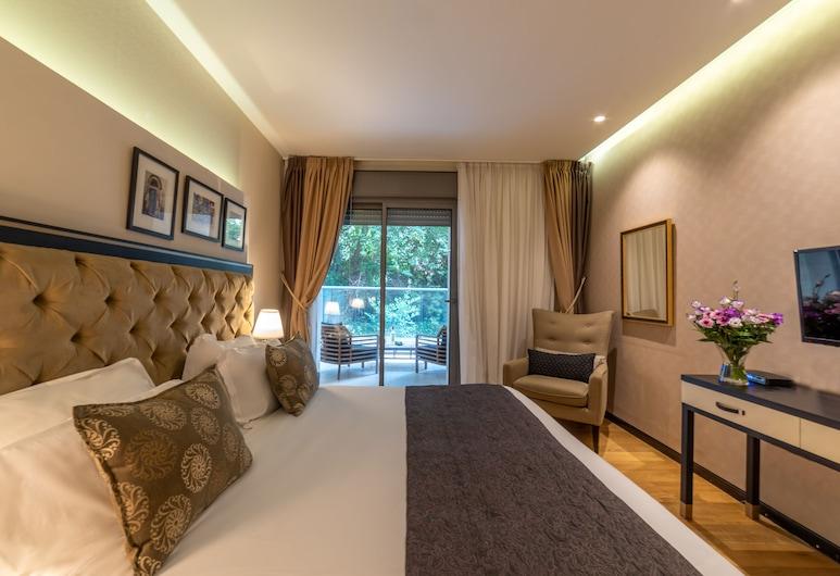 Stay Kook, Jerusalem, Deluxe-Doppelzimmer, Balkon, Zimmer