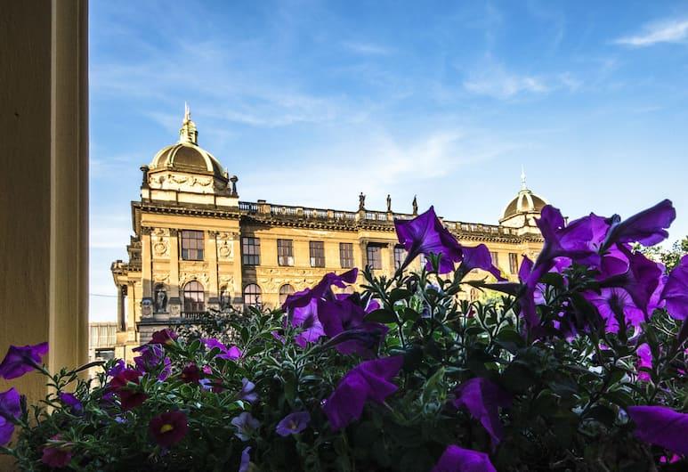 Wenceslas Square Hotel, Prága, Kilátás a hotelből