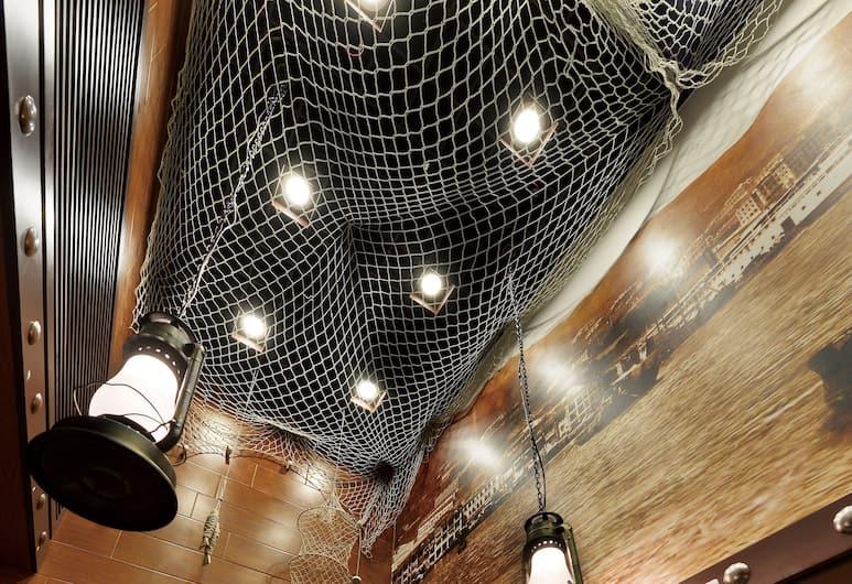 漁村紅酒店 (前名樂居), 九龍, 櫃台