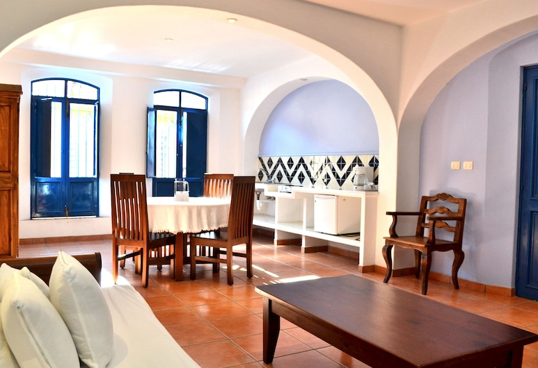 Posada del Cafeto, קסלפה, סוויטה, חדר אורחים
