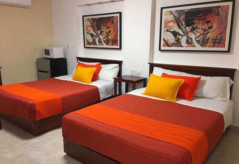 Hotel Santa Lucia del Bosque, San Luis Potosi, Superior Double Room, Bilik Tamu