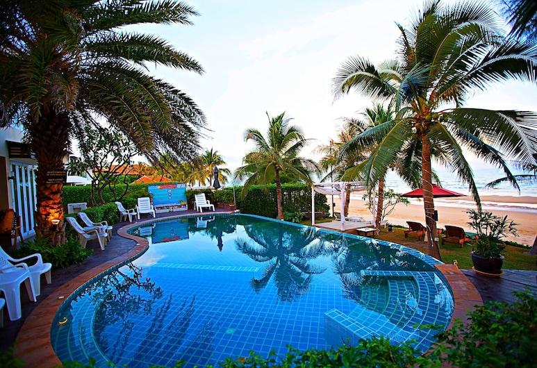 iL Mare Resort, Pranburi, Lauko baseinas