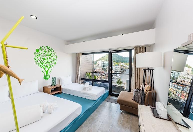 Eco Hostel Phuket, Phuket, Štandardná trojlôžková izba, Hosťovská izba