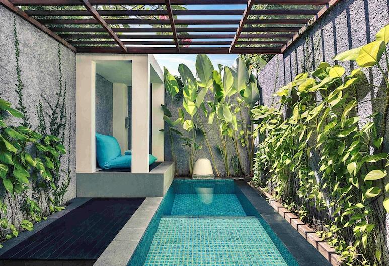 Mercure Bali Legian, Legian, Kamar Deluks, 1 Tempat Tidur King (Plunge Pool), Kamar Tamu