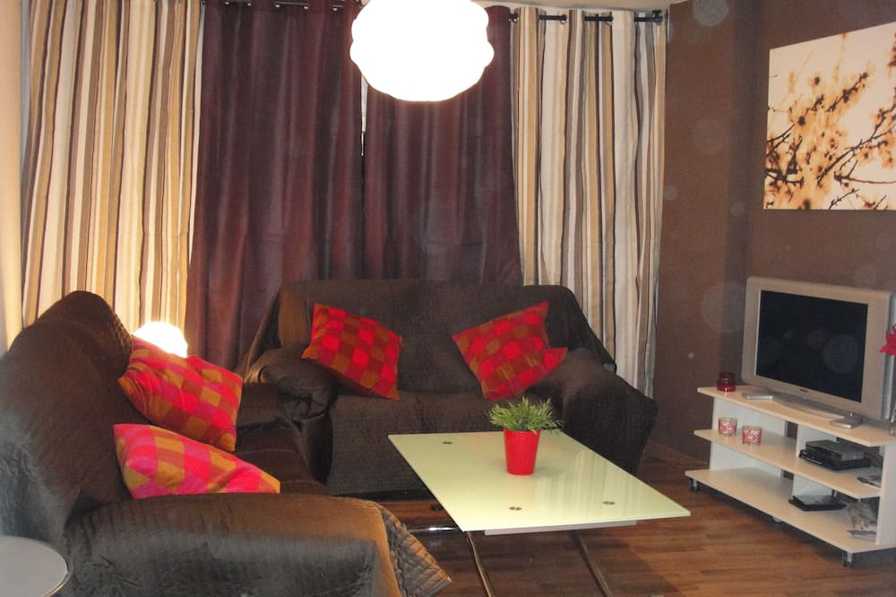 Apartment, 1 Bedroom (For 5 people) - Living Room