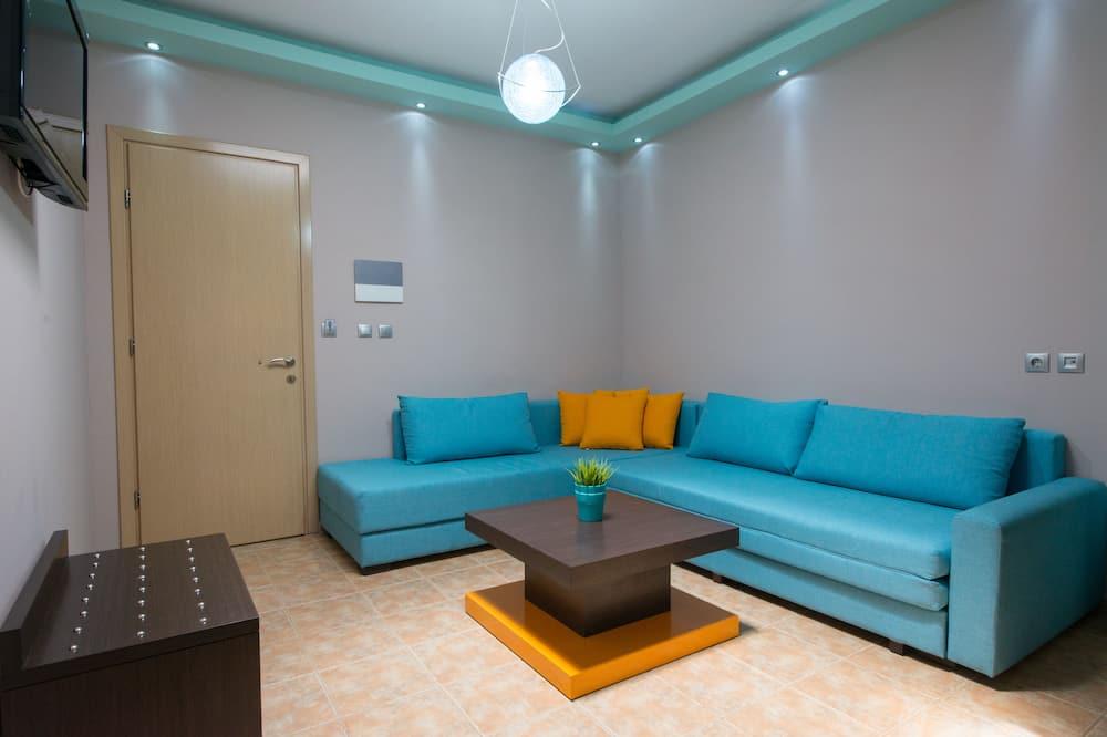 ห้องซูพีเรียสวีท - พื้นที่นั่งเล่น