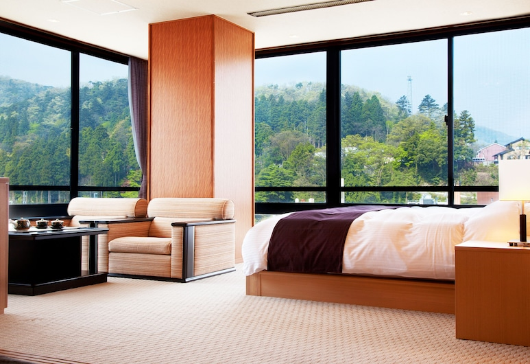 Kissho Yamanaka, Kaga, Japanese-Western Room (Miyabi), Guest Room