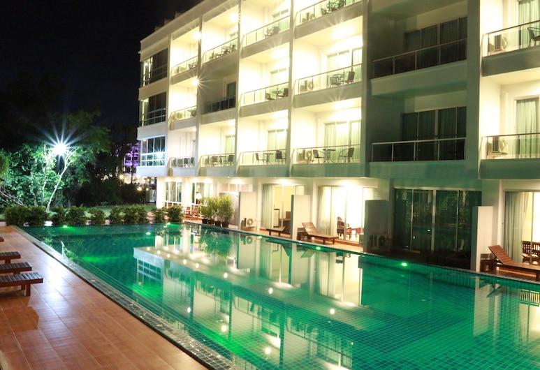 帕諾公寓飯店, 喀比, 室外游泳池