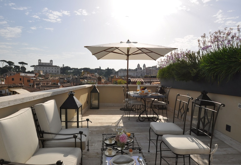 La Scelta di Goethe, Rome, Luxury Apartment, Terrace, City View, Terrace/Patio