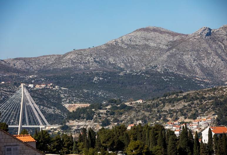 Apartments Lile, Dubrovnik, Apartment With Terrace, City View, Vista para a montanha