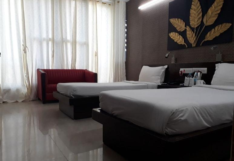 Hotel Tathagat, Gaya, Deluxe-Doppel- oder -Zweibettzimmer, Zimmer