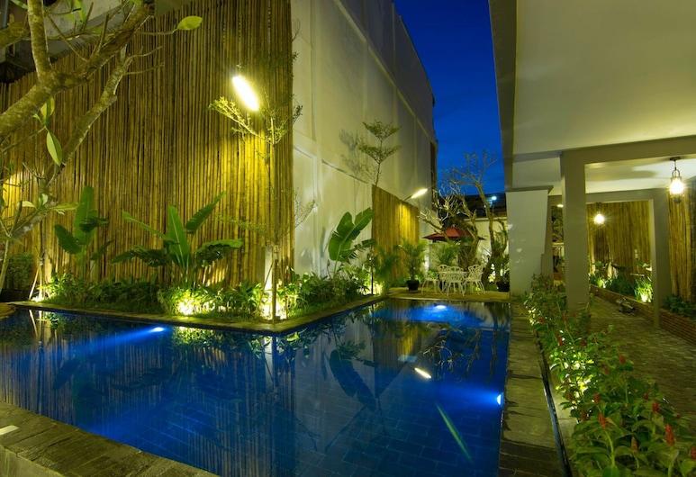 Double Leaf Boutique Hotel, Phnom Penh, Lauko baseinas