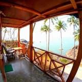 Deluxe Cottage, 1 Double Bed, Ocean View, Beachfront - Balcony