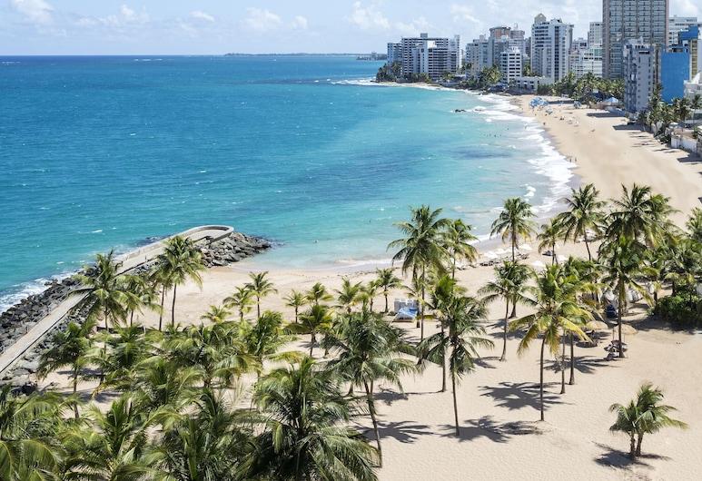 Condado Vanderbilt Hotel, San Juan, Suite, 2 Bedrooms, Oceanfront (Vanderbilt), Beach/Ocean View