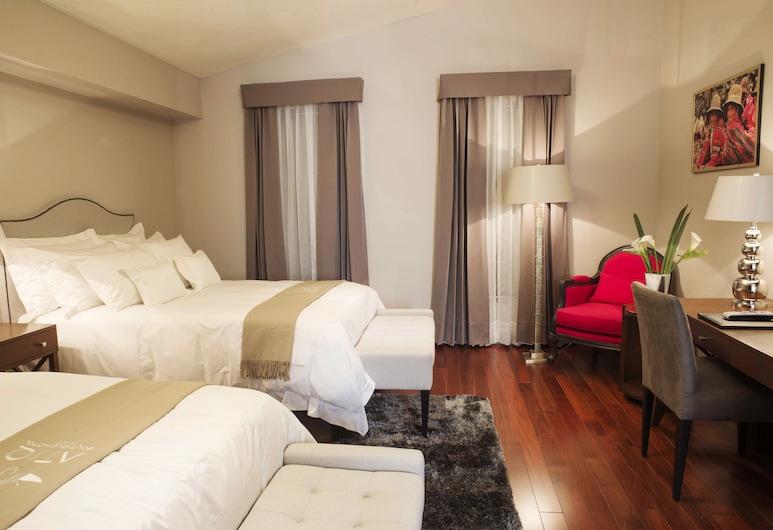 Atiq Exquisite By Xima Hotels, Cusco, Apartmá s ložnicí a obývacím koutem, 2 dvojlůžka, Pokoj