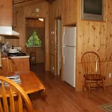 Cabin, 1 Bedroom (No Pets, Linens Available) - In-Room Dining
