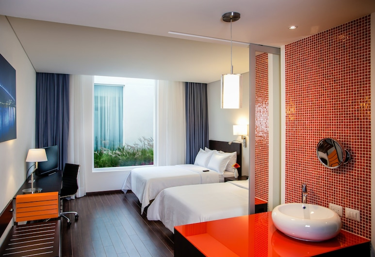 Fiesta Inn Plaza Central Aeropuerto, Mexico by, Rom – superior, 1 kingsize-seng, Gjesterom
