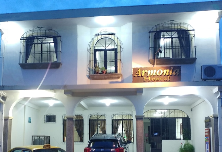 Hotel Armonía Hostal, San Salvador, Hotel Front – Evening/Night