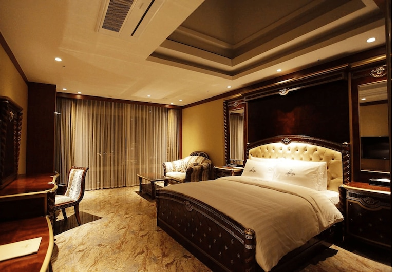The Central Park Hotel Songdo, Incheon, Sky Deluxe, Chambre