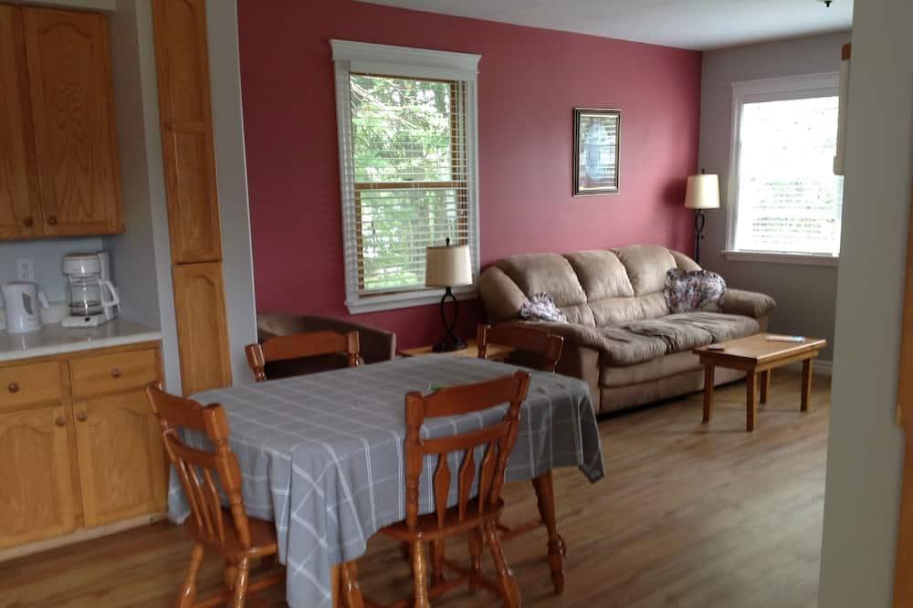 Apartmán se 2 ložnicemi - Obývací prostor