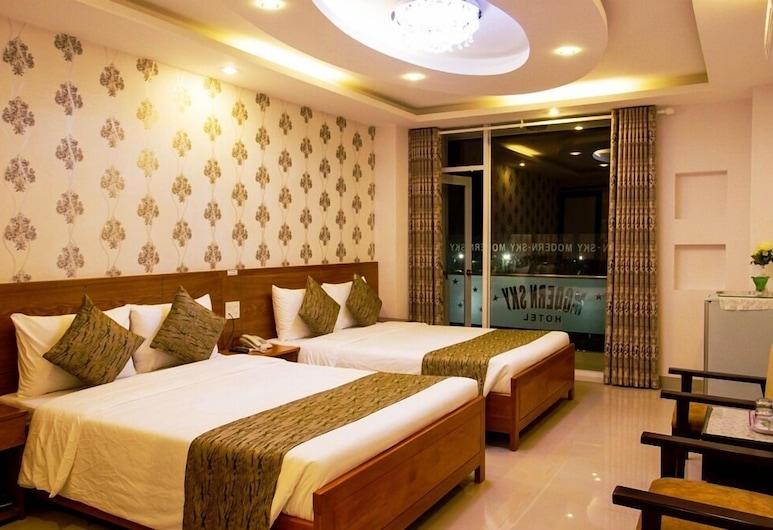 Modern Sky Hotel, Niačangas, Trivietis kambarys, be langų, Svečių kambarys