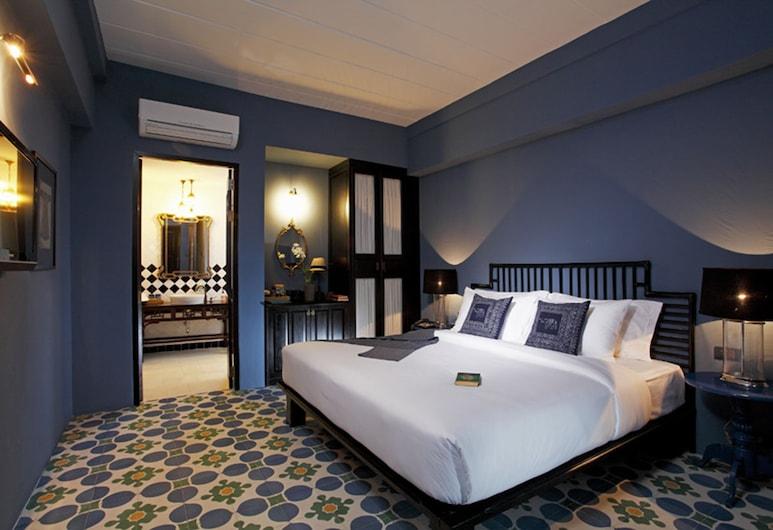 Baan Chart, Μπανγκόκ, Deluxe Δίκλινο Δωμάτιο (Double), Δωμάτιο επισκεπτών