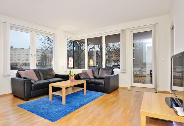 Forenom Serviced Apartments Bislett, Oslo, One-Bedroom Apartment For Two, Stue