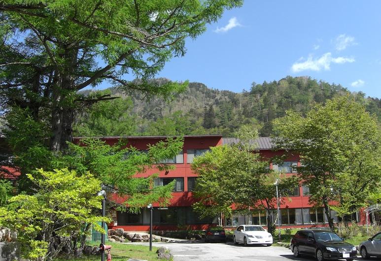Okunikko Konishi Hotel, Nikas, Įėjimas į viešbutį