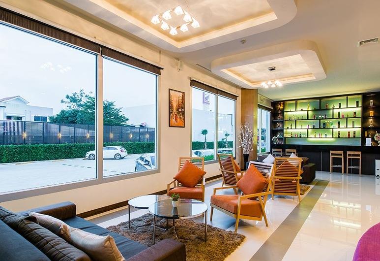 42C The Chic Hotel, Nakhon Sawan, Sitteområde i lobbyen