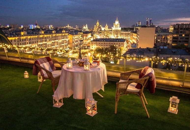 The Rooms Boutique Hotel, Moscou, Terrasse/Patio
