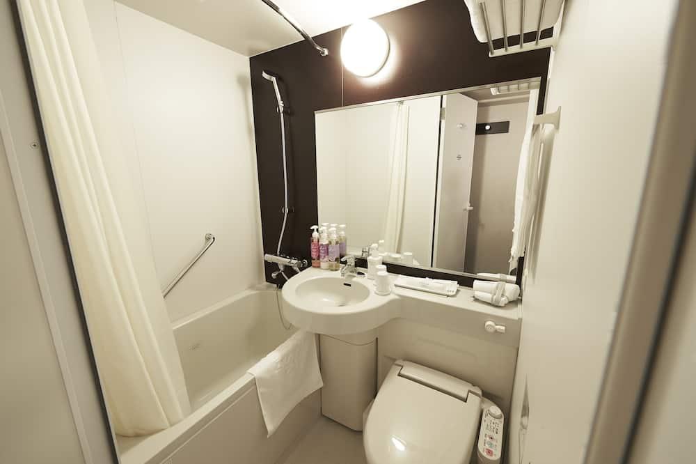 ダブル(禁煙)140cm ベッド1台 (清掃なし) - バスルーム