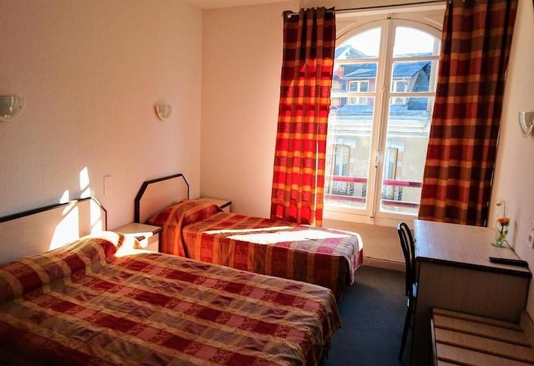 Hotel Aux Armes de Belgique, Lourdes, Tek Büyük Yataklı Oda, Oda