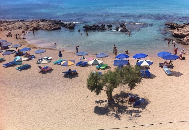 Falasarna Bay, Kisamas, Paplūdimys