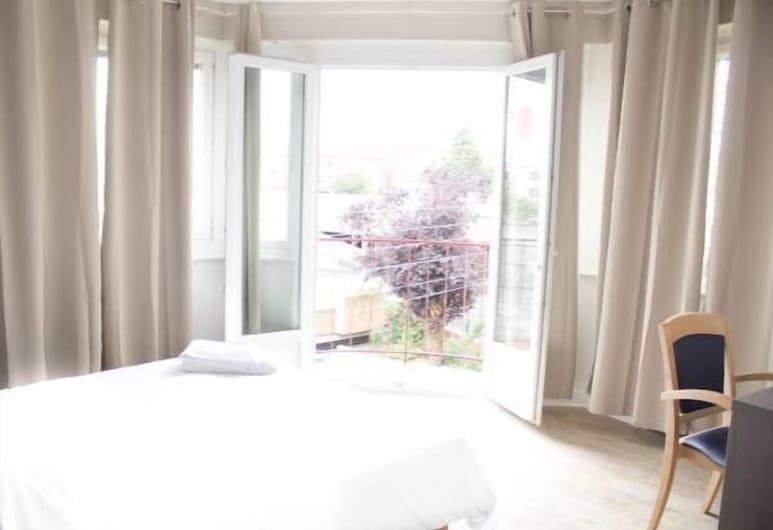 Hôtel Le Jardin, Lens, Dvivietis kambarys, balkonas, Svečių kambarys