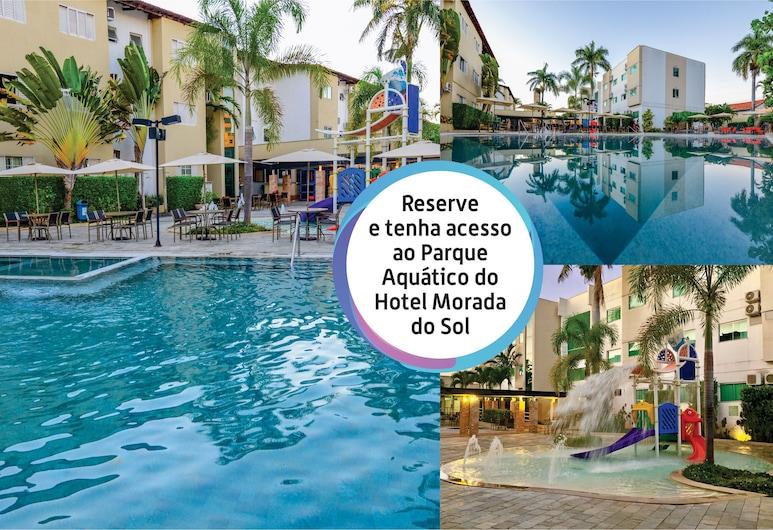 Hotel Morada das Aguas, Kaldas Novasas, Lauko baseinas