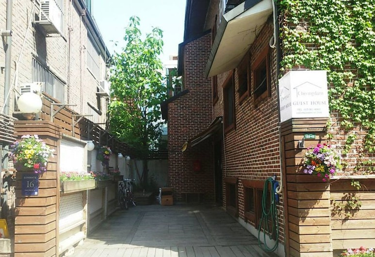 청담 게스트하우스, 서울특별시, 호텔 입구