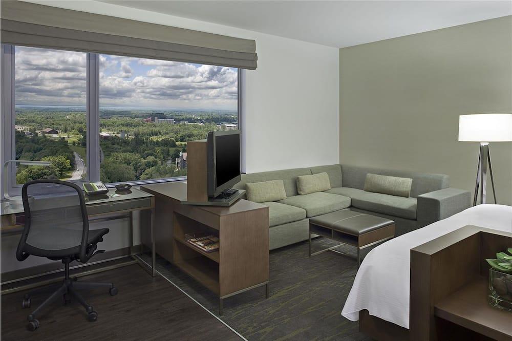 Estúdio, 2 camas queen-size - Área de Estar